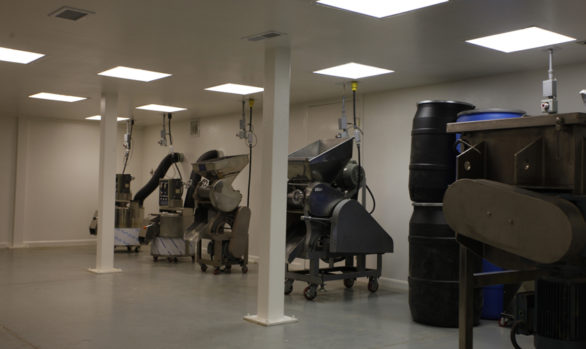 Sanitary Dry Powder Processing Room