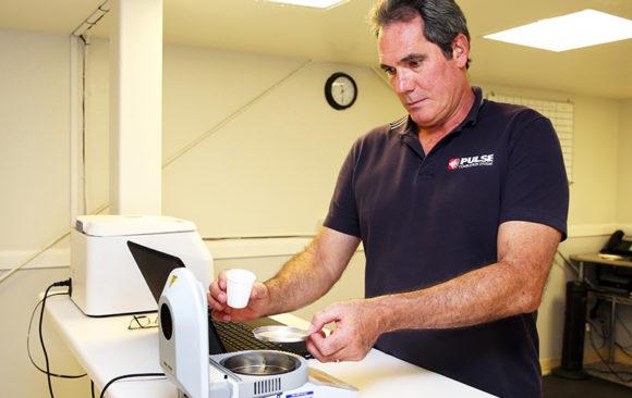 Measuring Powder Moisture in Lab